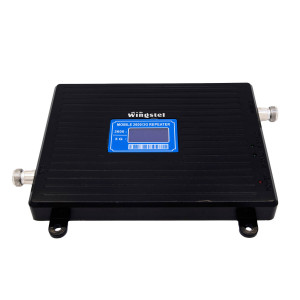 Усилитель сигнала Wingstel 2100/2600 mHz (для 3G/4G) 65dBi, кабель 15 м., комплект - 2