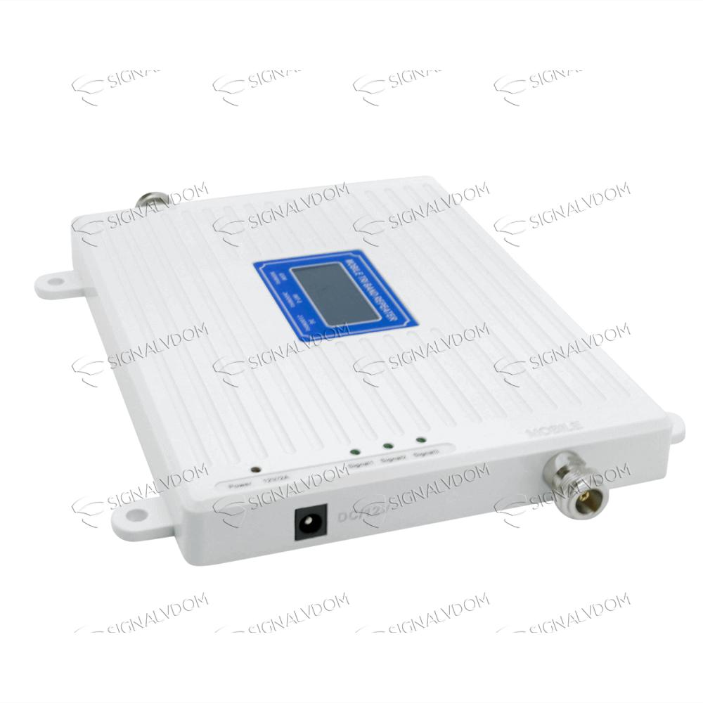 Усилитель сигнала Wingstel 900/2100/2600 mHz (для 2G/3G/4G) 65dBi, кабель 15 м., комплект - 4