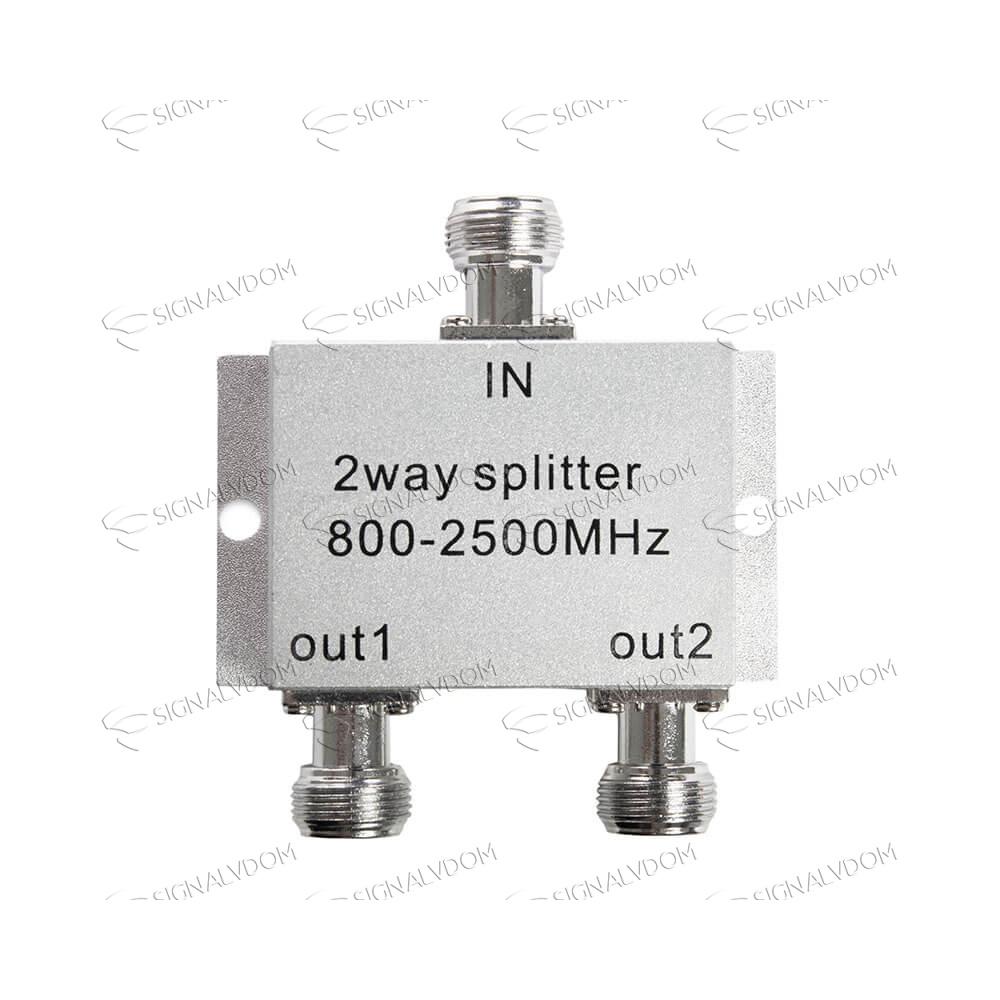 Делитель сигнала c микрочипом (сплиттер) 1/2 WS 504 800-2500 MHz