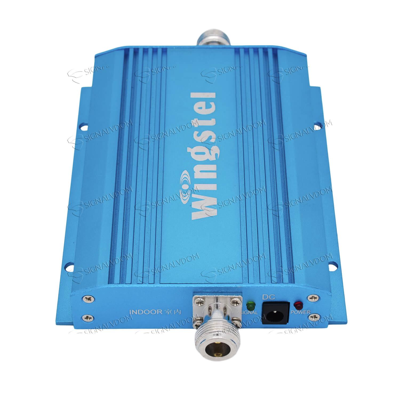 Усилитель сигнала автомобильный Wingstel Car 900 mHz (для 2G) 65dBi, кабель 10 м., комплект - 4