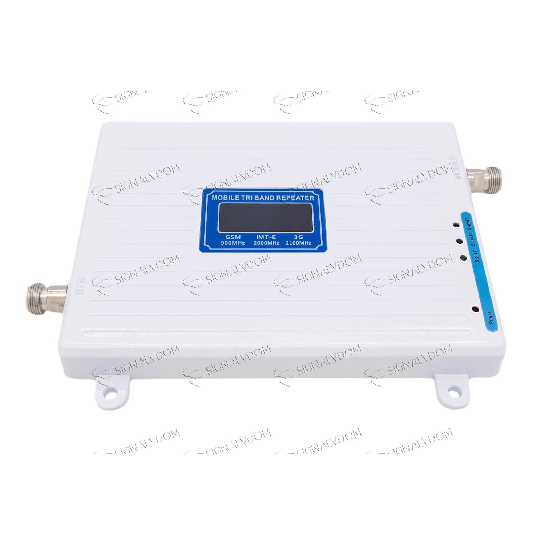 Усилитель сигнала связи Power Signal Link 900/2100/2600 MHz (для 2G/3G/4G) 65 dBi, кабель 15 м., комплект - 4