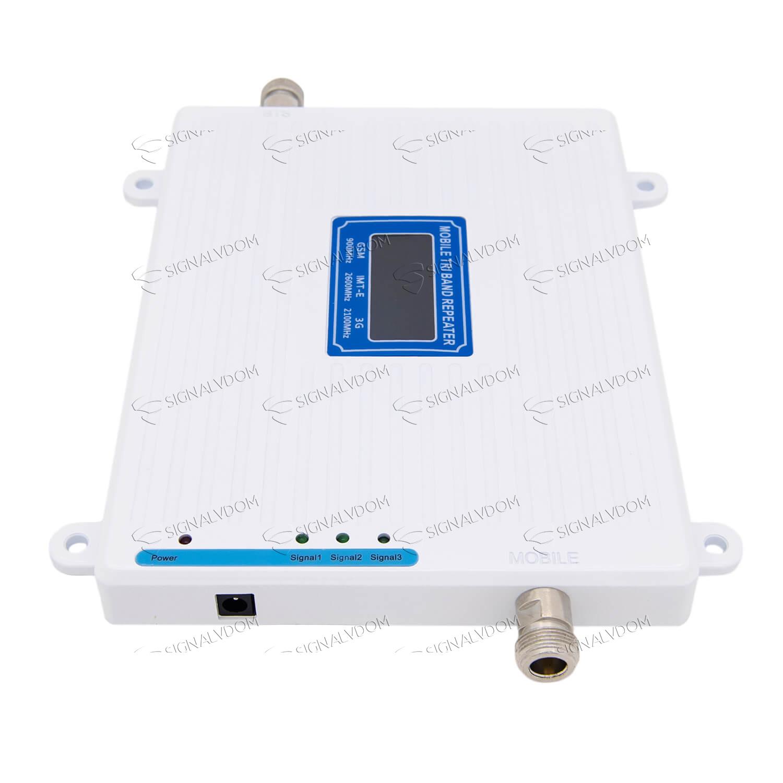 Усилитель сигнала связи Power Signal Link 900/2100/2600 MHz (для 2G/3G/4G) 65 dBi, кабель 15 м., комплект - 5