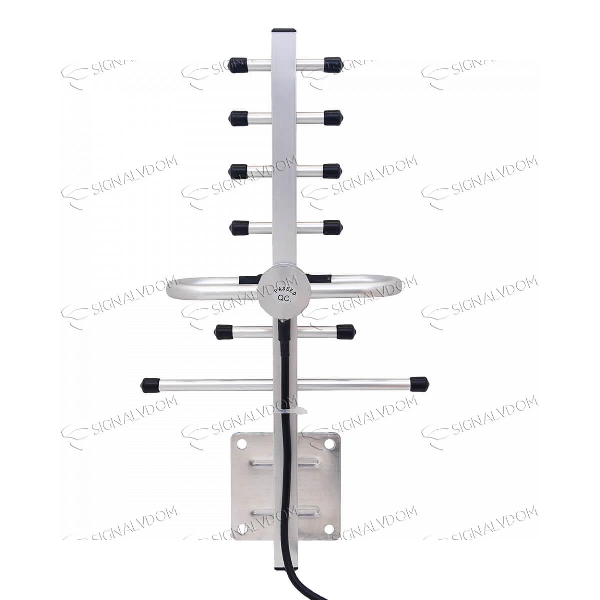 Усилитель сигнала Wingstel 1800 mHz (для 2G/4G) 65dBi, кабель 15 м., комплект - 5
